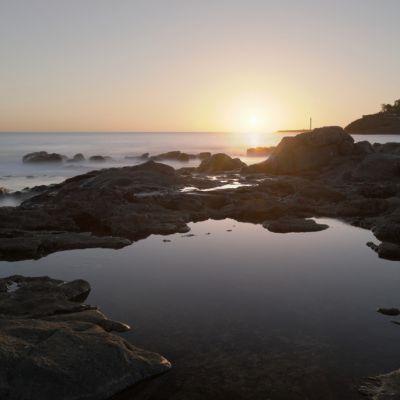 Sunset in Playa Blanca, Lanzarote