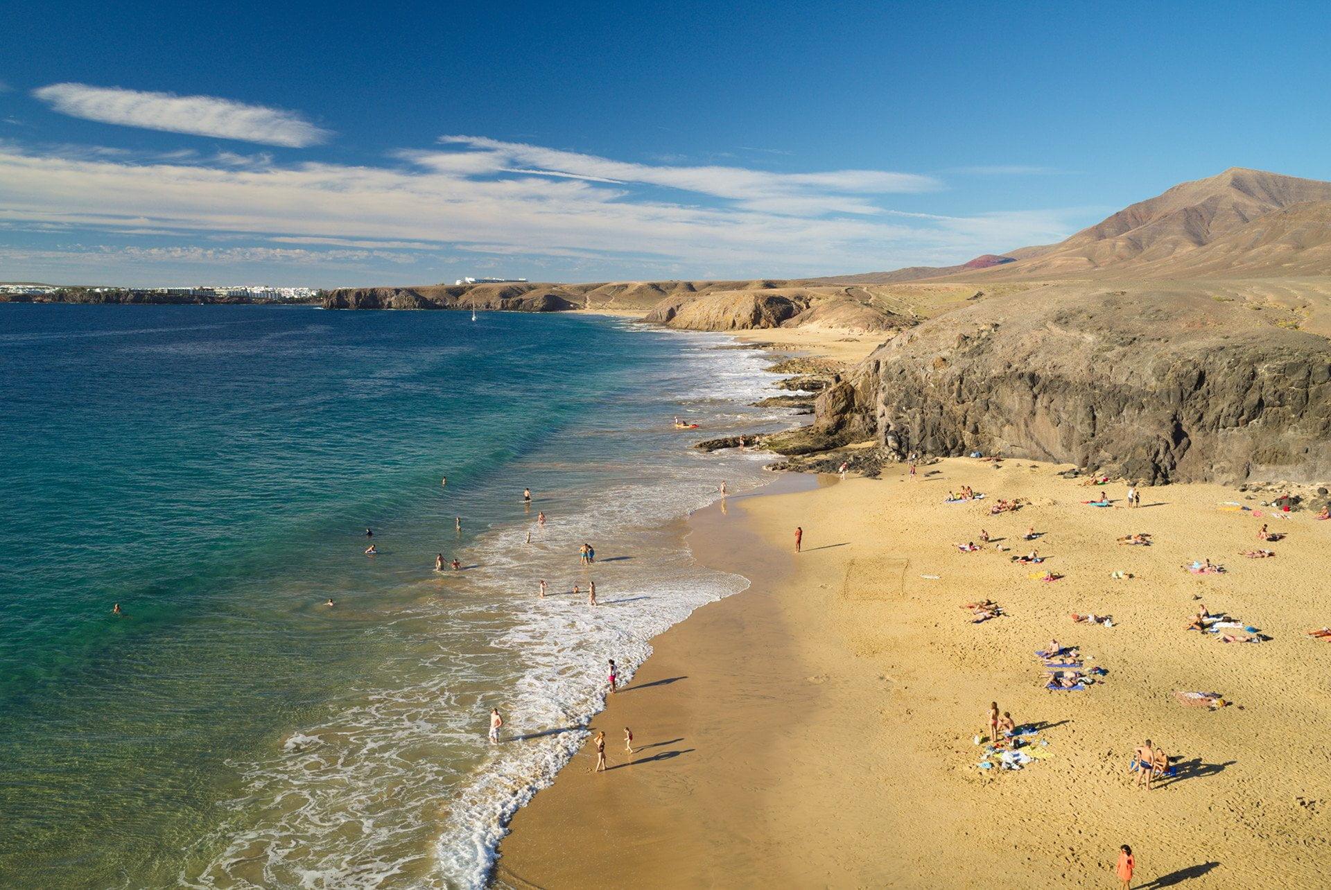 papagayo beaches lanzaroteguide