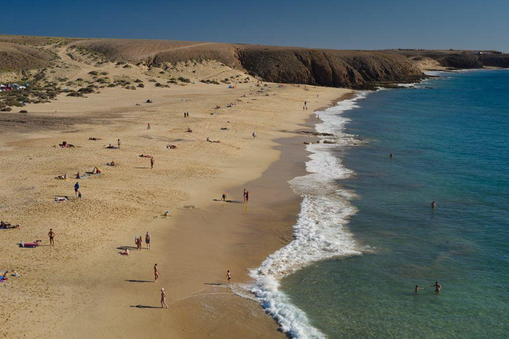 Playa Mujeres, Papagayo, Lanzarote