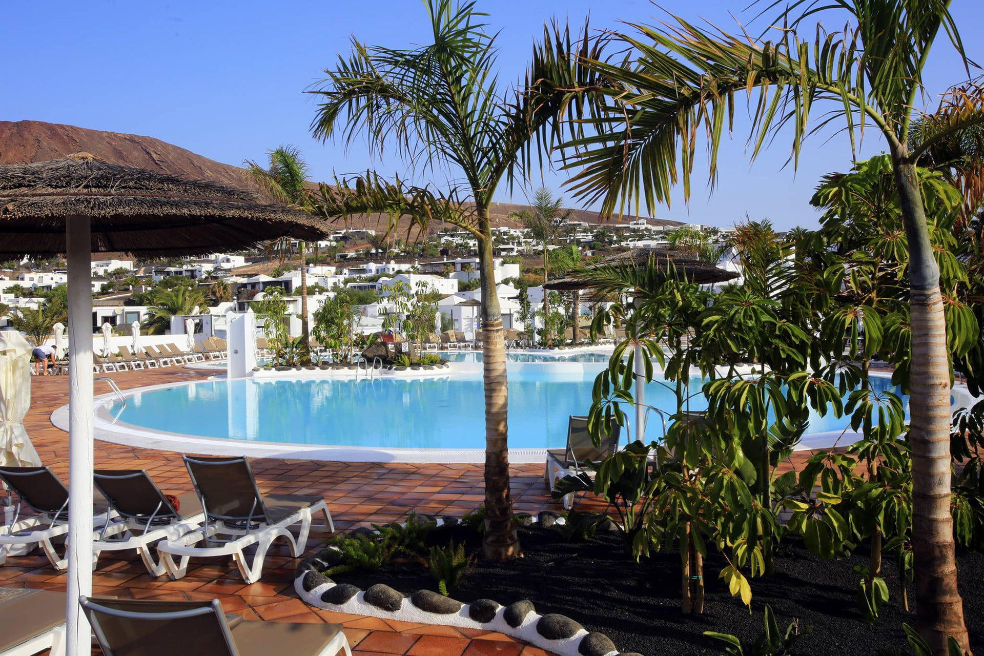 Swimming Pool at the Labranda Alyssa Suite Hotel in Playa Blanca, Lanzarote