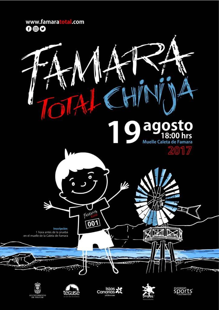 The Famara Total Chinija (Childrens Race), Lanzarote 2017