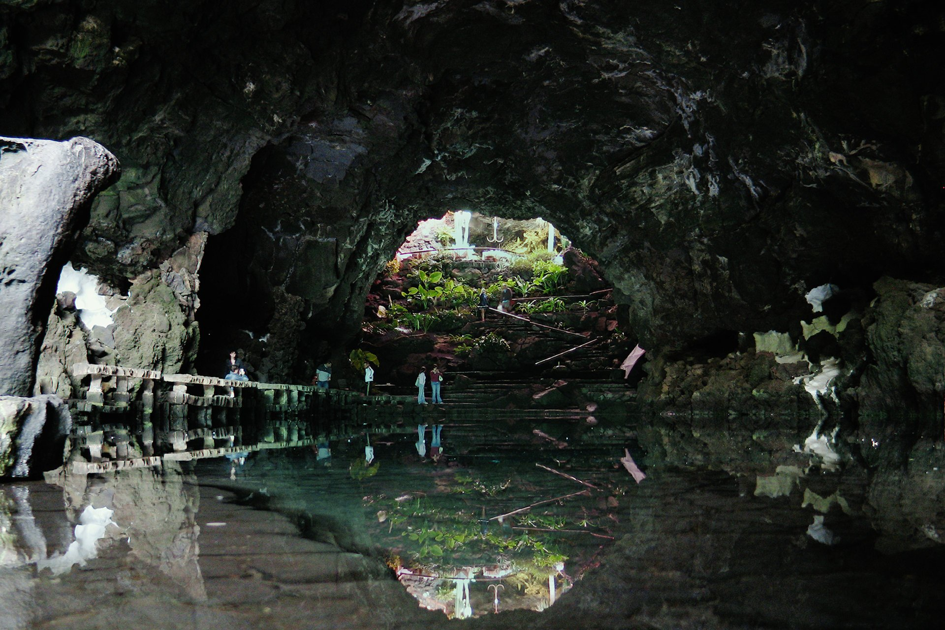 The Jameos del Agua Lagoon