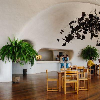 The Interior of Mirador del Rio, Lanzarote
