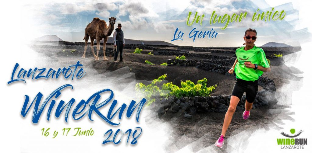 The Wine Run 2018 in La Geria, Lanzarote