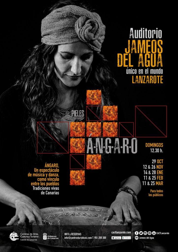 Angaro Show at Jameos del Agua, Lanzarote