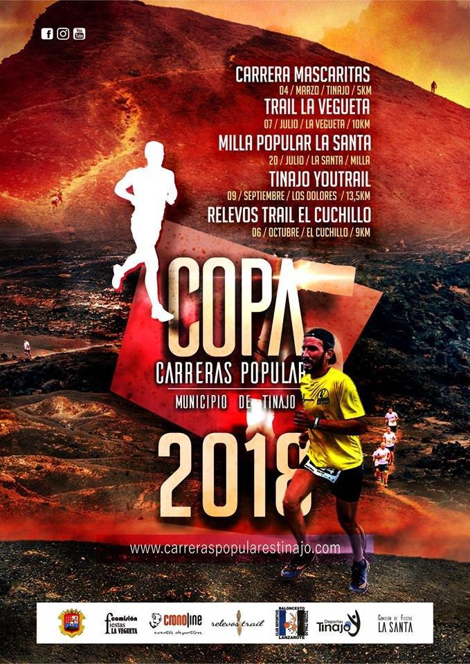 Copa Carreras Populares Tinajo 2018