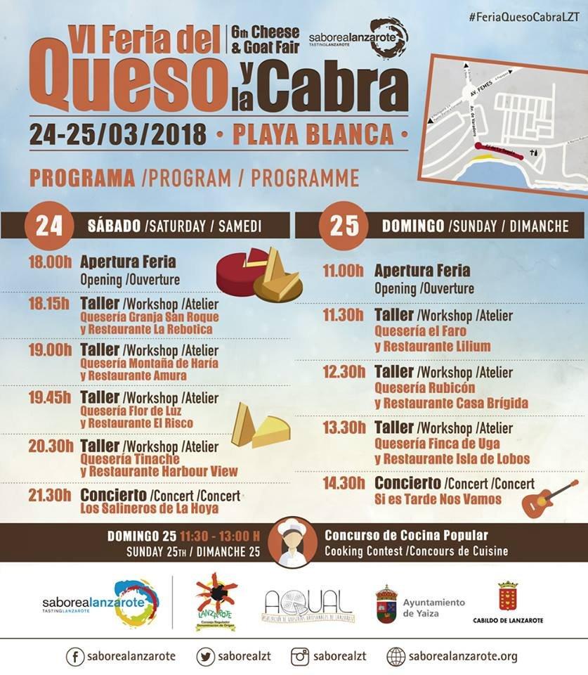 Vi Feria del Queso y La Cabra - Cheese and Goat Fair Programme