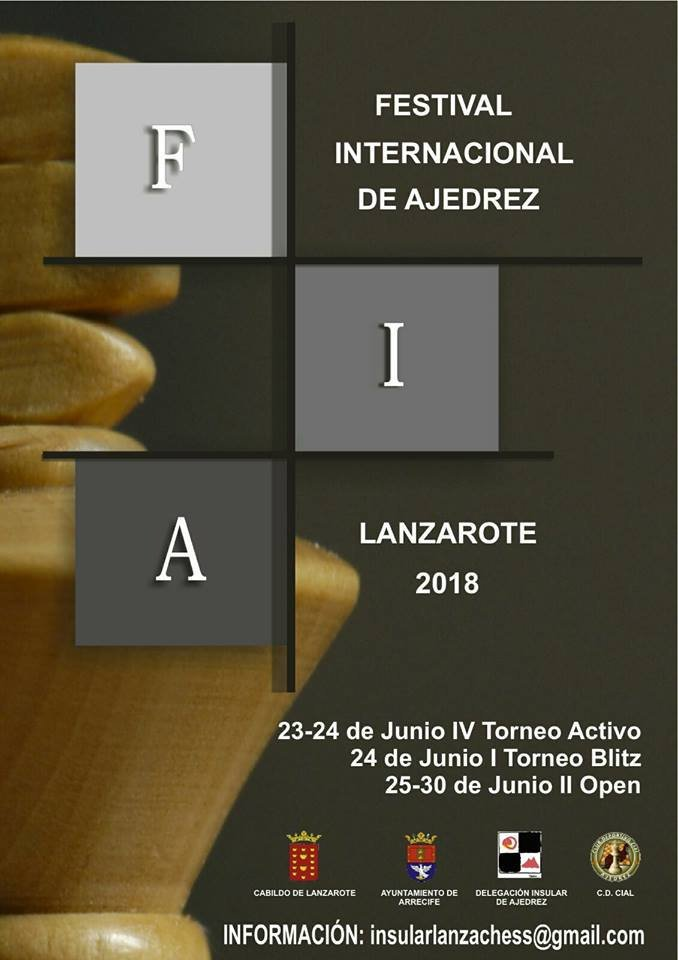 Festival Internacional de Ajedrez - International Chess Tournament - Arrecife, Lanzarote
