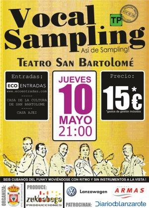 Vocal Sampling in Concert at the Teatro de San Bartolome, Lanzarote
