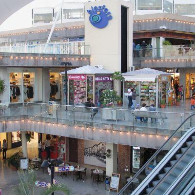 The Centro Comercial Biosfera in Puerto del Carmen