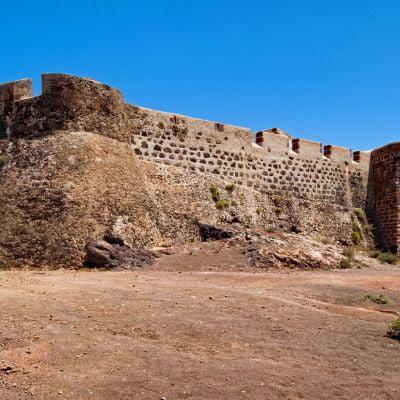 The 16th Century Castillo de Santa Barbara, Teguise, Lanzarote