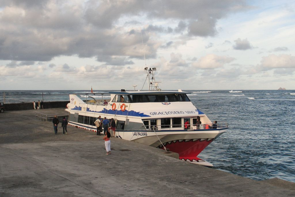The La Graciosa Ferry