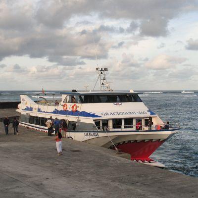 The La Graciosa Ferry