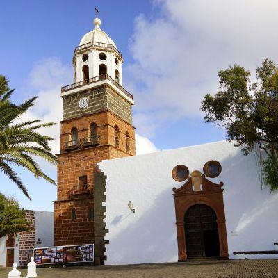 The Iglesia de Nuestra Señora de Guadalupe, Teguise, Lanzarote
