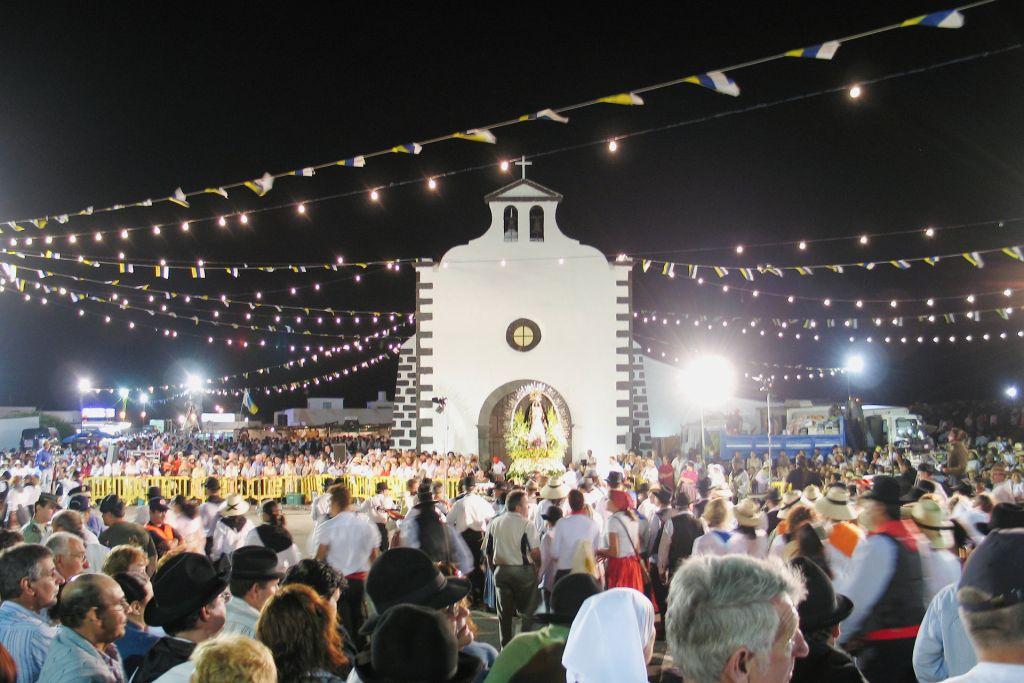 Ermita de los Dolores, Mancha Blanca
