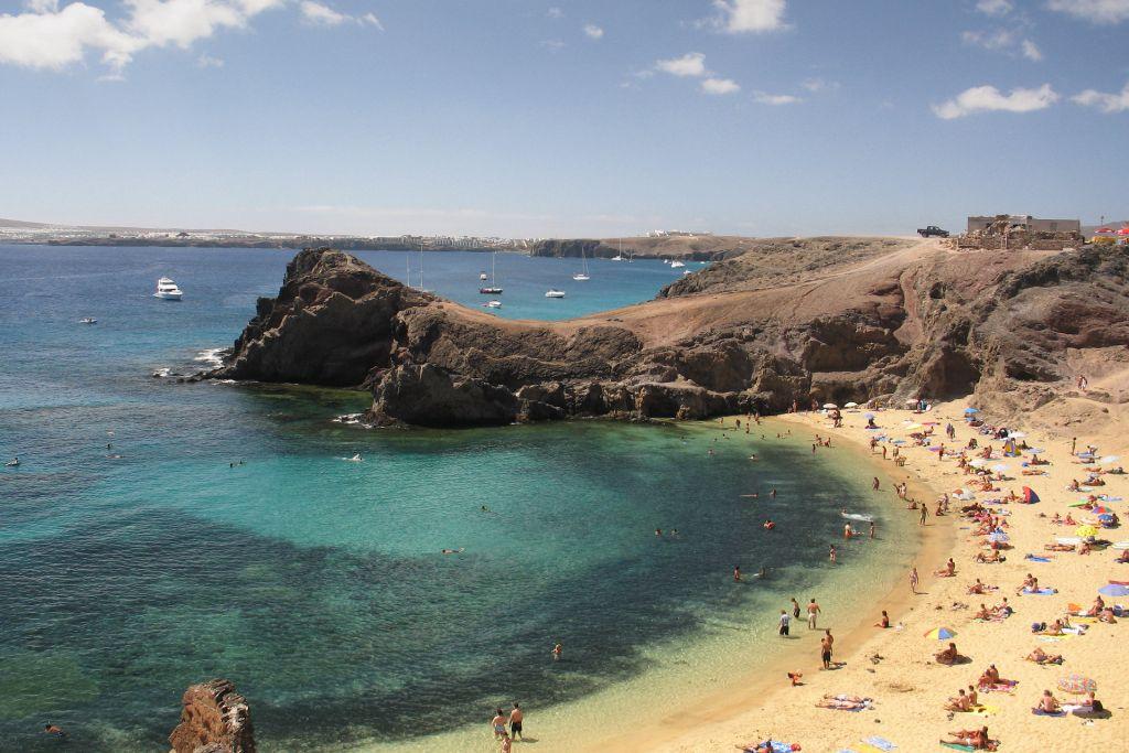 Papagayo Beach, Lanzarote