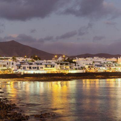 Playa Blanca at Night