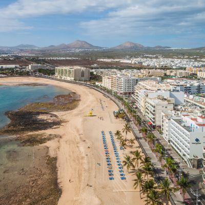 Playa del Reducto, Arrecife, Lanzarote
