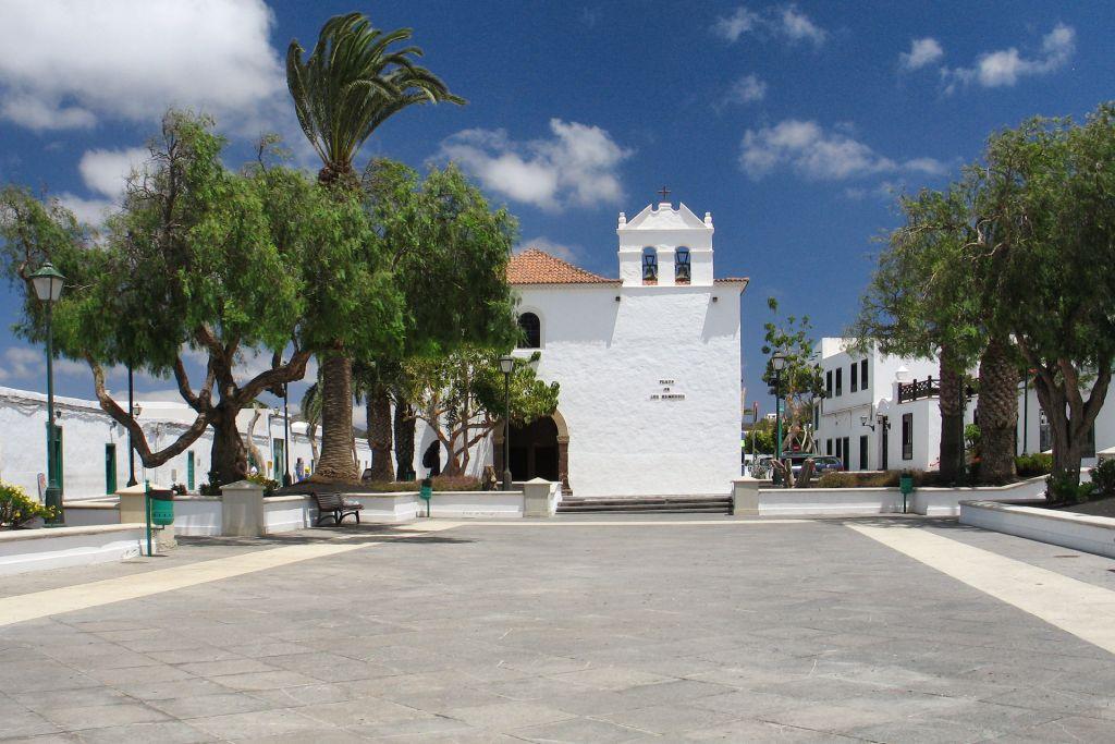 Plaza de los Remedios, Yaiza, Lanzarote